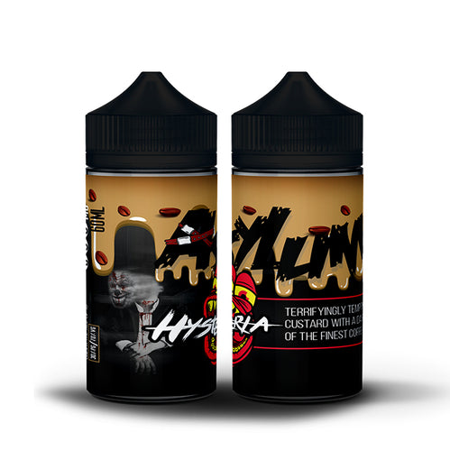 Asylum - Hysteria Vanilla Custard Coffee 60ml