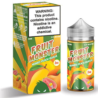 Mango Peach Guava - Fruit Monster 100ml 3mg