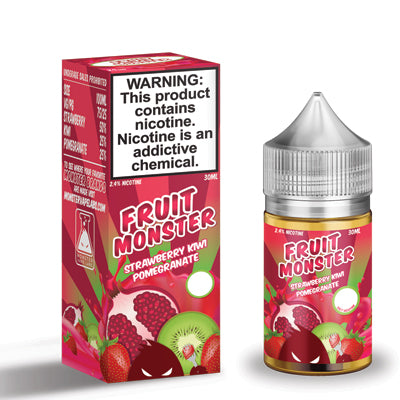 Fruit Monster Salts -Strawberry Kiwi Pomegranate 30ml 48mg