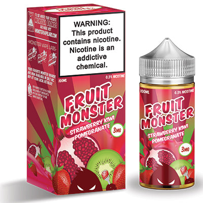 Strawberry Kiwi Pomegranate - Fruit Monster 100ml 3mg