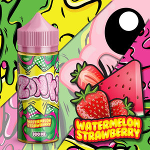 Juice Man - Watermelon Strawberry 100ml 3mg