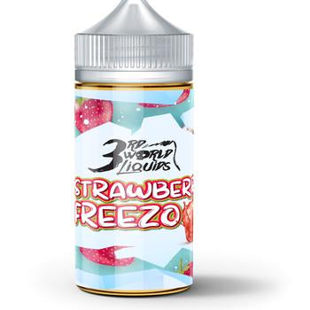 3rd World Liquids - Strawberry Freezo 100ml 2mg