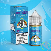 Load image into Gallery viewer, Unicorn Frappe Nic Salts 30ml 35mg