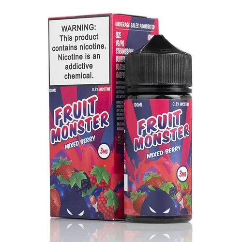 Fruit Monster - Mixed Berry 100ml 3mg
