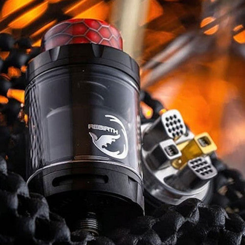 HELLVAPE REBIRTH RTA BY MIKE VAPES - BLACK