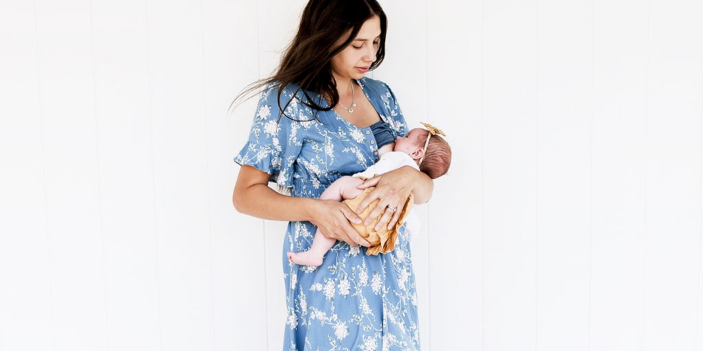 Flattering Fashions For All Breastfeeding Mums
