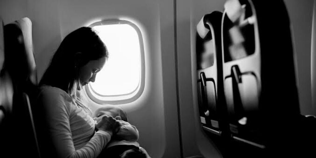How To Breastfeed On A Plane (Comfortably!)