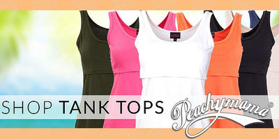 Nursing Tank Tops – 5 Style Upgrades For New Mums That Are Comfy Yet Well Put-Together