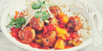 Sweet and Sour Meatballs in Under 30 Minutes