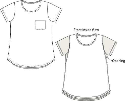 ST066 Breastfeeding Tee - How it Works