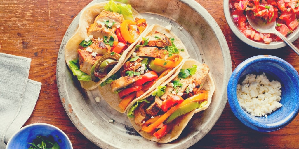 Fun Weeknight Chicken Fajitas