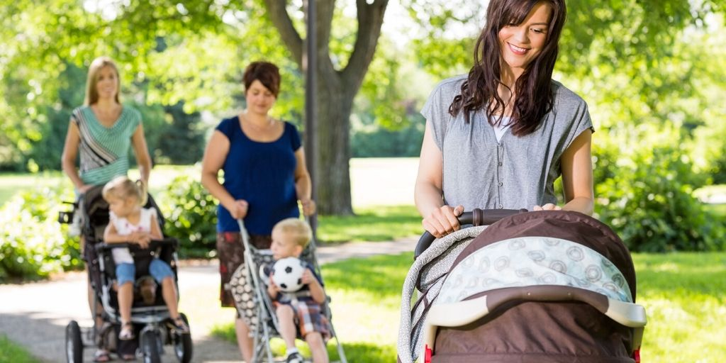 Pram Posture Tips For An Effective Injury-Free Workout Walk