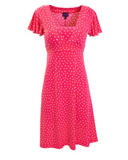 Raspberry Va Va Voom Breastfeeding Dress