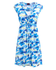 Sale - Hawaiian Breastfeeding Dress