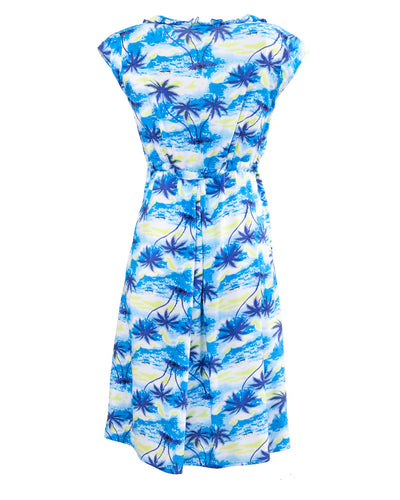 Hawaiian Delight Breastfeeding Dress - back
