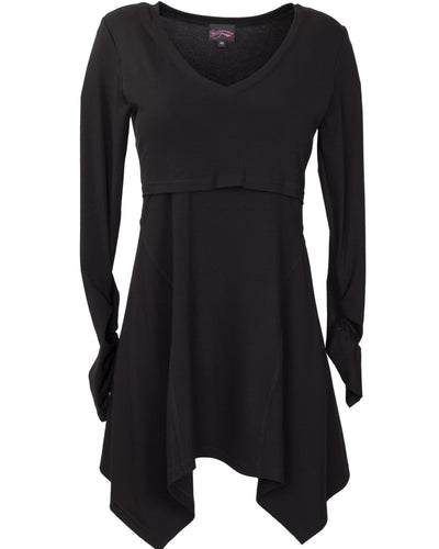 Gypsy Nursing Top Black