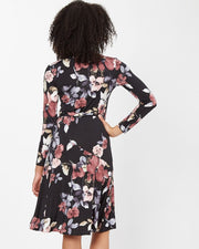 Floral Wrap Nursing Dress from Peachymama - 10
