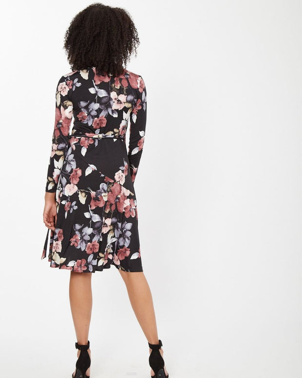 Floral Wrap Nursing Dress from Peachymama - 11