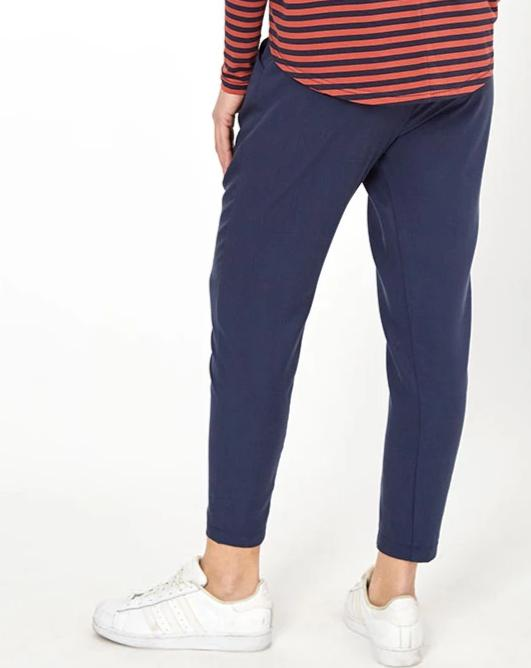 Drop Crotch Pants - Navy from Peachymama - 4