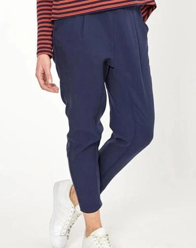 Drop Crotch Pants - Navy from Peachymama - 1