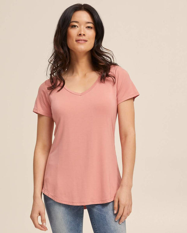 Bamboo Nursing Tee Bundle - V Neck