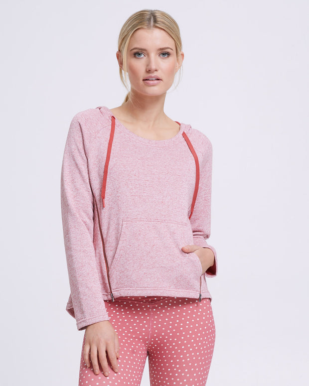 Zip Up Nursing Hoodie - Rosetta - Peachymama - 6