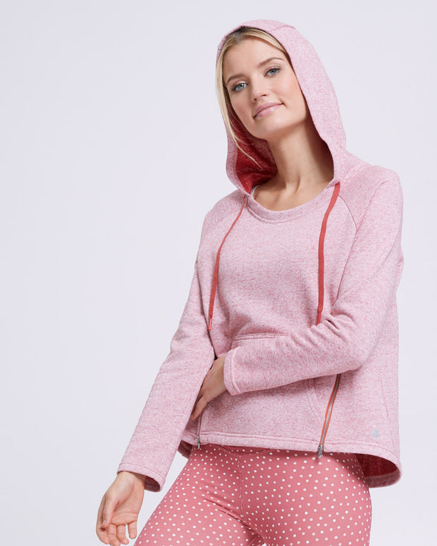 Zip Up Nursing Hoodie - Rosetta - Peachymama - 5