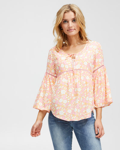 Freespirit Nursing Blouse - Peachymama - 1