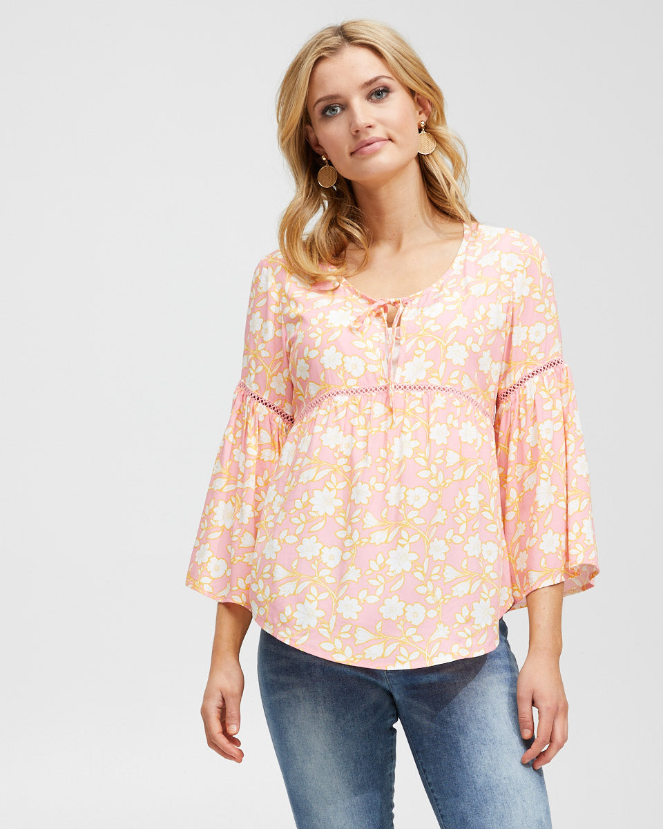 Freespirit Nursing Blouse - Peachymama - 7