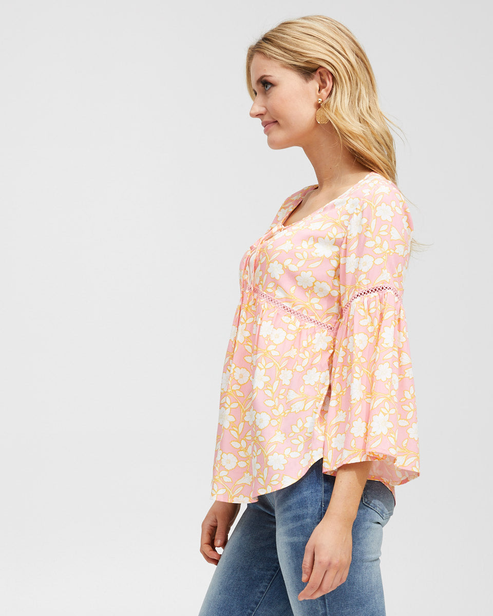 Freespirit Nursing Blouse - Peachymama - 6