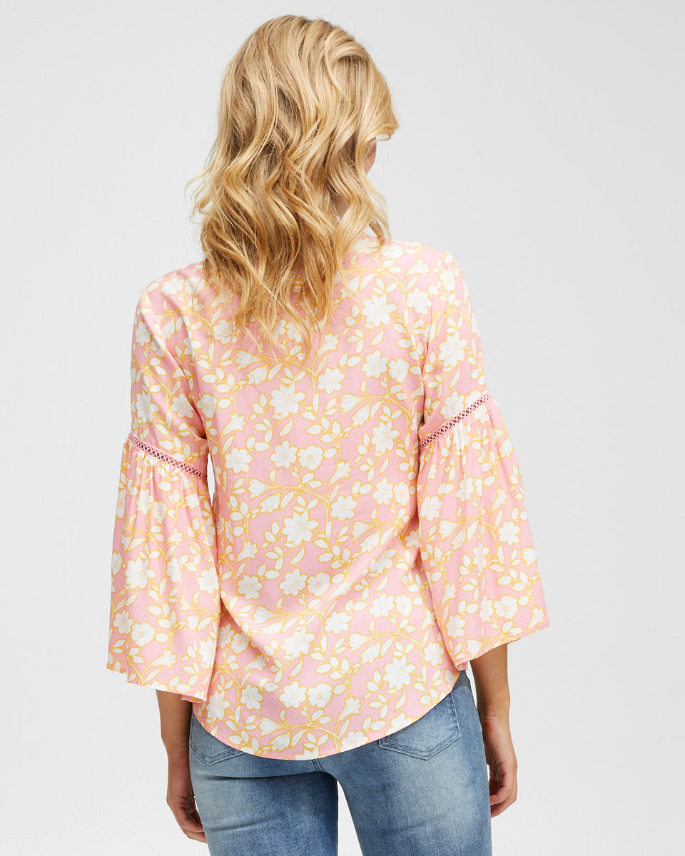 Freespirit Nursing Blouse - Peachymama - 3