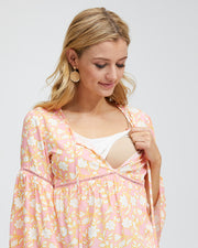Freespirit Nursing Blouse - Peachymama - 2