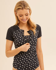 Short Sleeve Postpartum Rashvest
