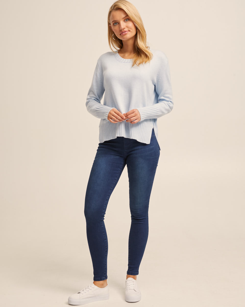 Post Pregnancy Stretch Jeans - Indigo