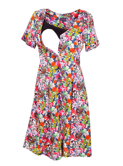 Flowerdaze Breastfeeding Dress