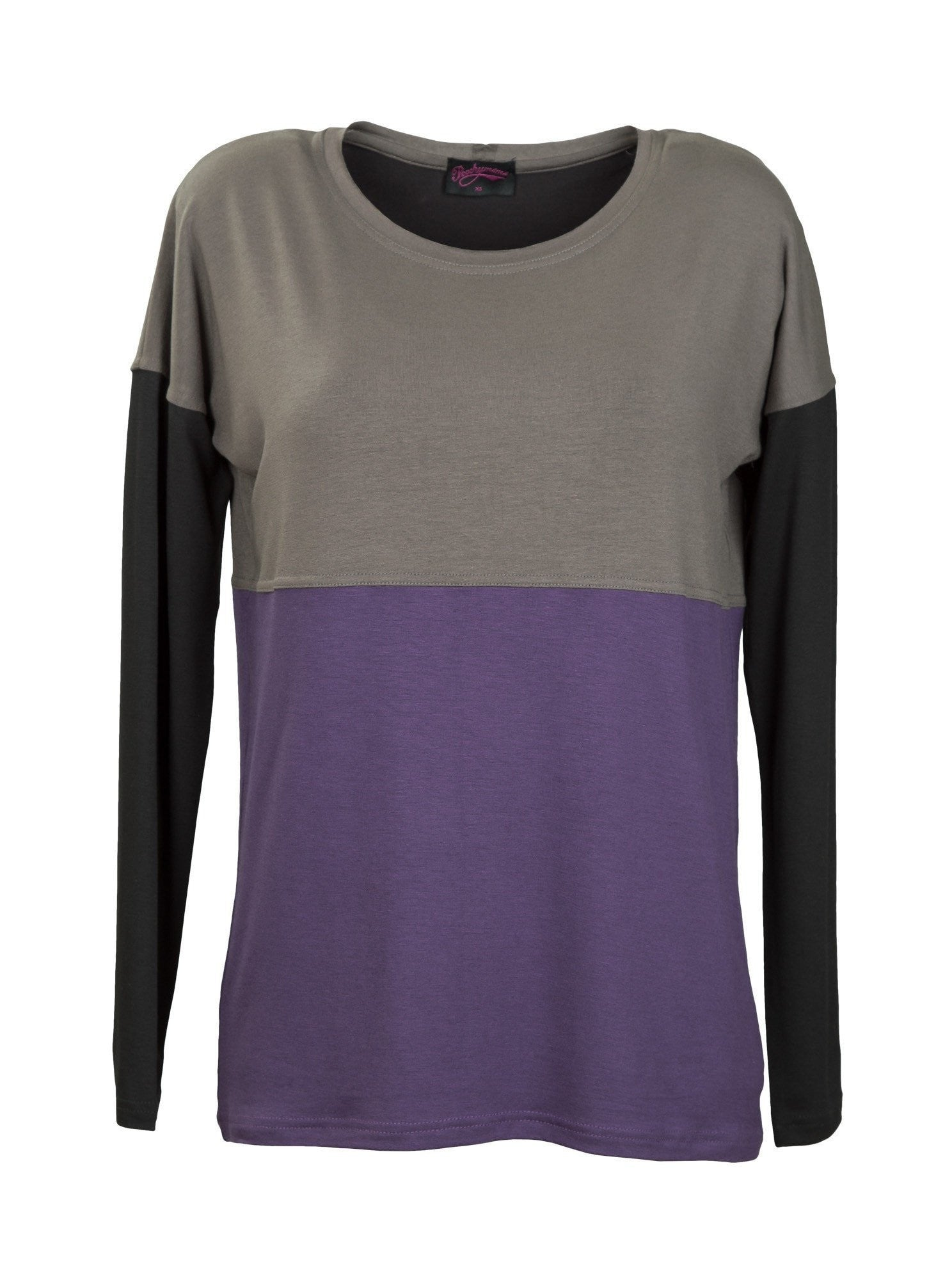 Breastfeeding Jumper - Purple - Front
