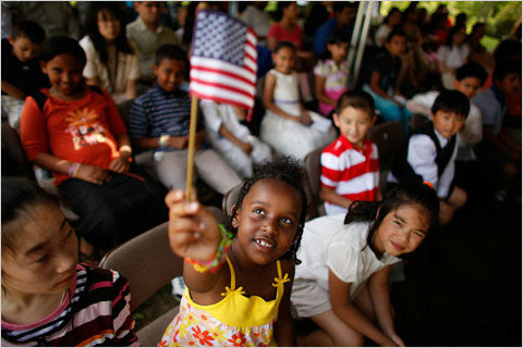 How Some Immigrants Adopt the Fourth of July