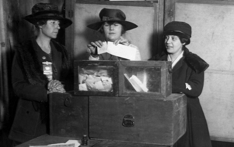 100 years ago women won the right to vote in NY
