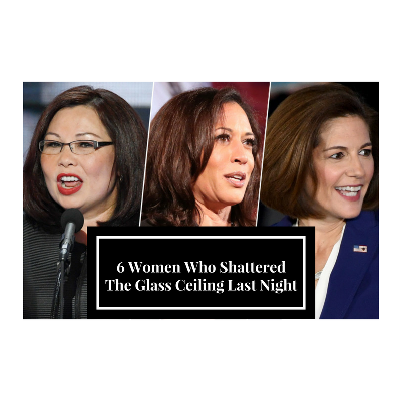 6 Women Who Shattered the Glass Ceiling Last Night