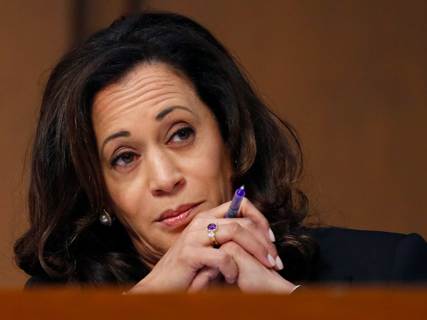 Kamala Harris, silenced again: #shepersisted