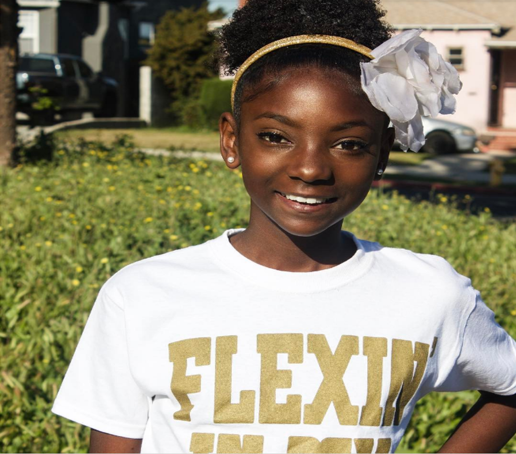 10-year old Girl, Bullied for Her Skin Tone, Starts Empowering Clothing Line