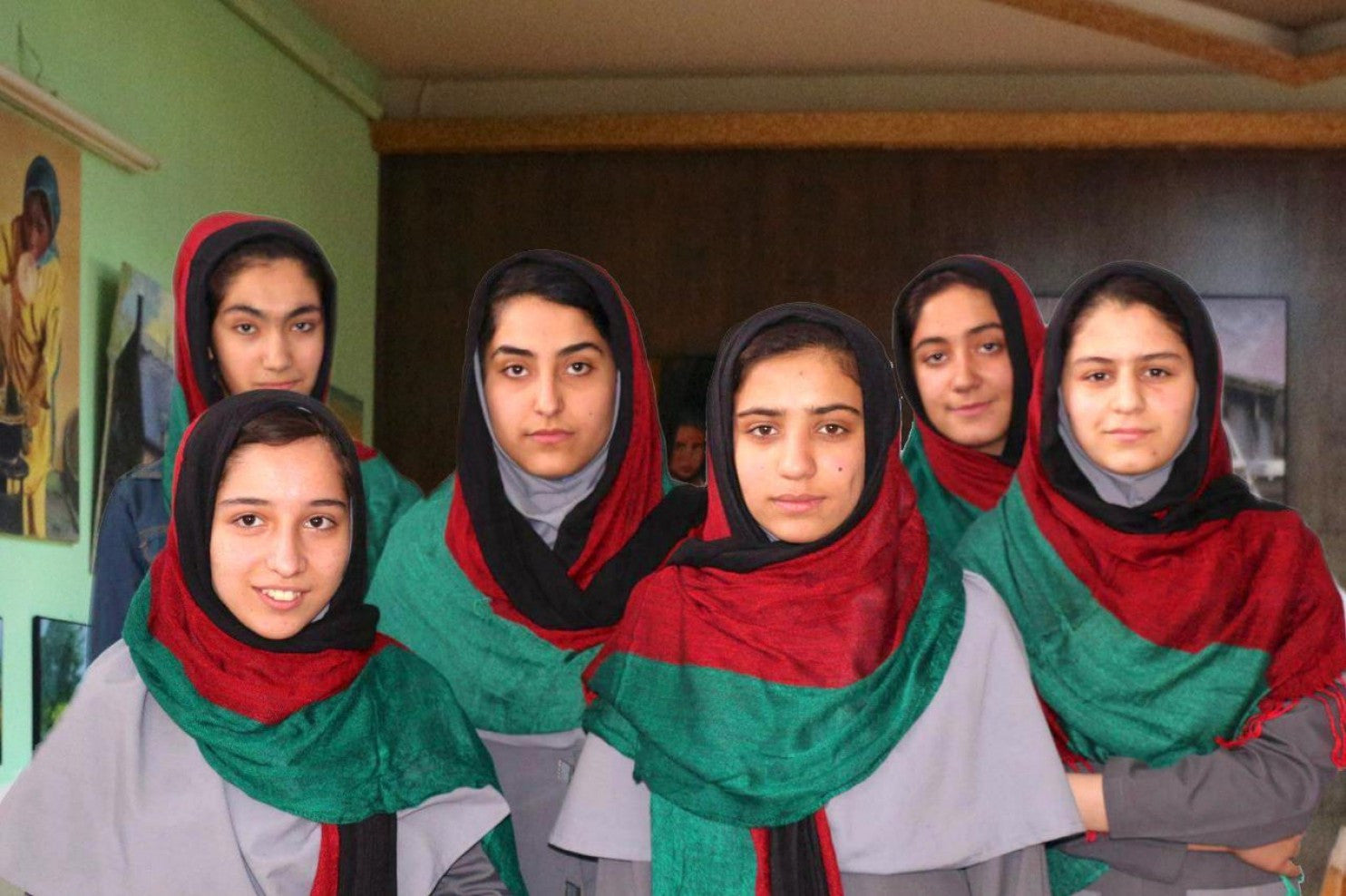 All Girls Robotics Team from Afghanistan