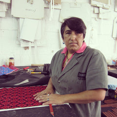 Lidia handbag worker Mexico City