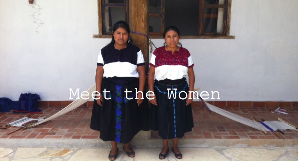 women weavers from Chiapas