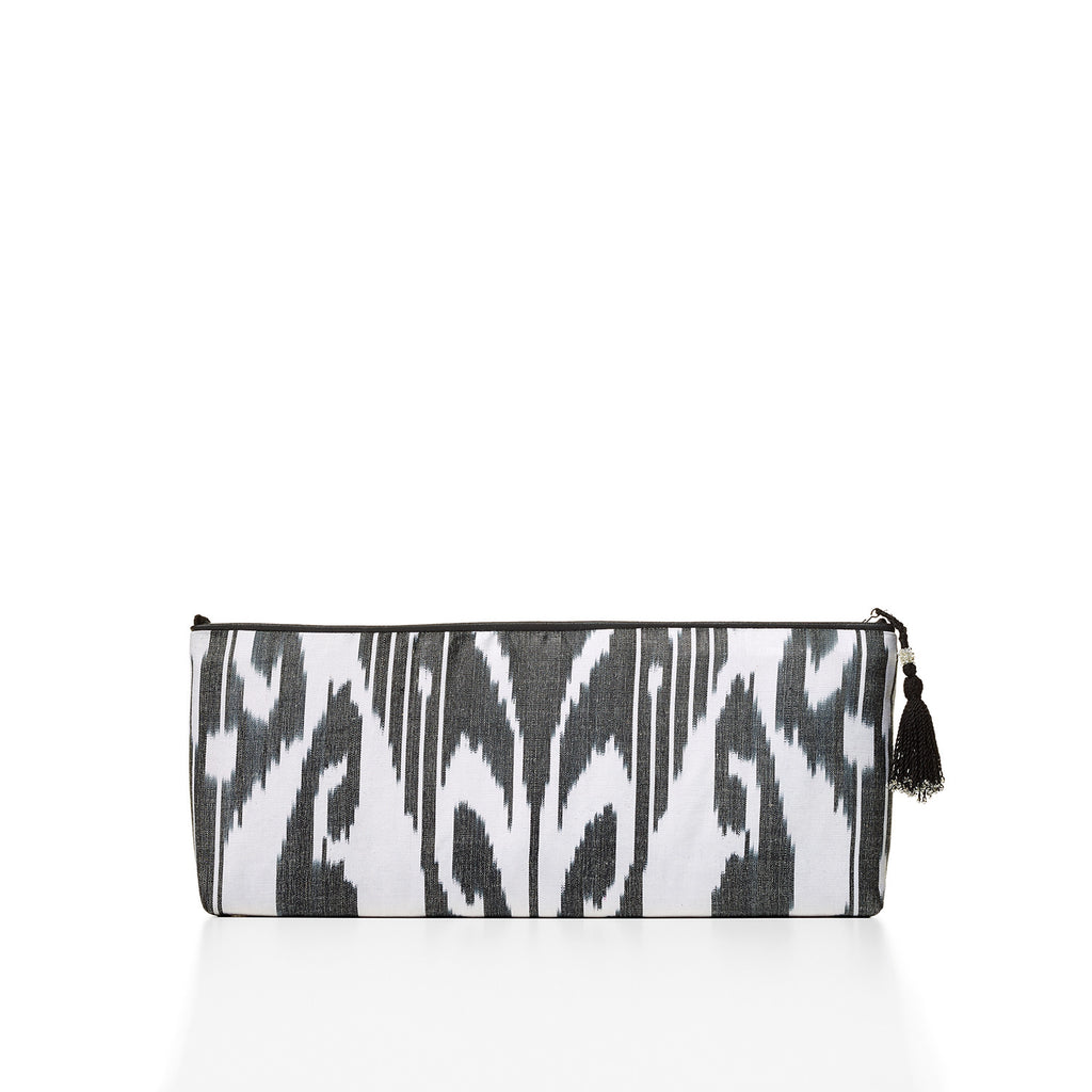 Mohinur Zip Clutch (black)