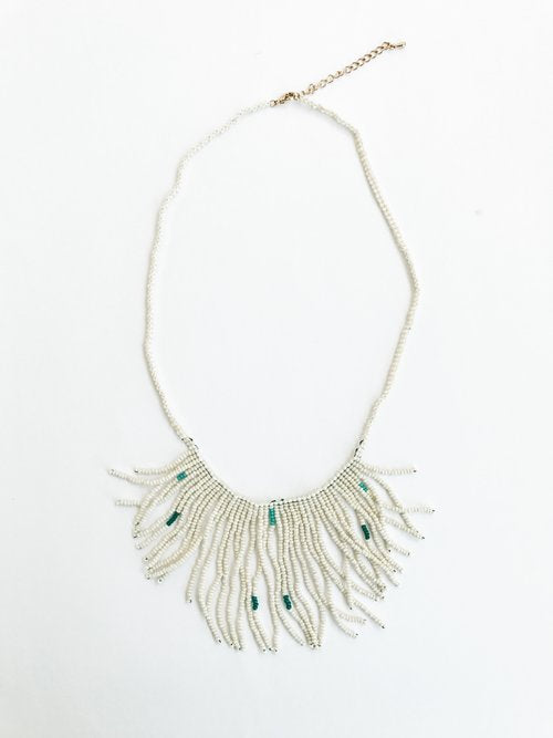 Rara Fringe Necklace (Verdure)