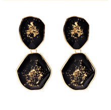 Load image into Gallery viewer, Diana sprinkle of gold Earrings