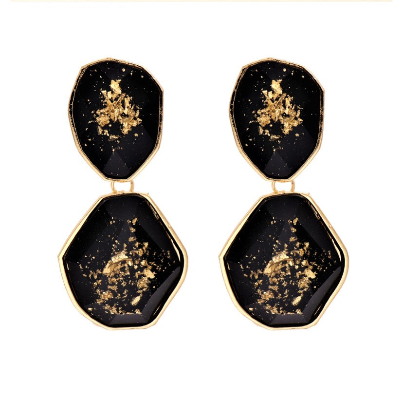 Diana sprinkle of gold Earrings
