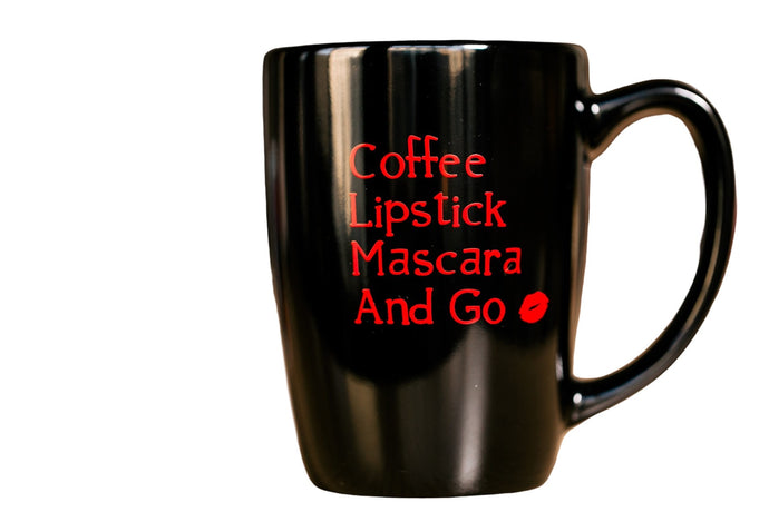 Coffee Lipstick Mascara & Go