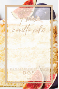 French Vanilla cake  Wax Melts